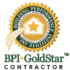 Certified BPI GoldStar Contractor
